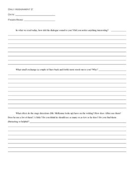 Creative Writing: Drama Quarter