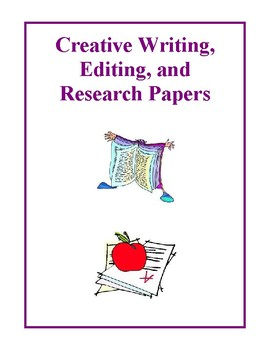 Creative Writing, Editing, and Research Papers Activities and Handouts