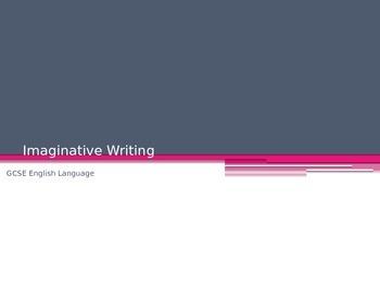 Creative Writing Full Unit