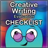 Creative Writing Evaluation Checklist
