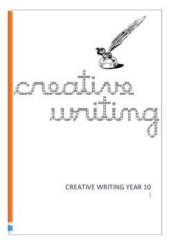 Creative Writing Exercises Year 10 with Marking Criteria