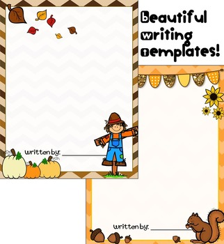 Thanksgiving Writing - Fall Creative