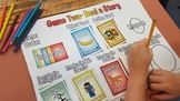 Creative Writing Game - From Bananas to Minecraft Steve! 100 Cards and 4 Games!