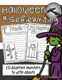 Creative Writing Halloween Monster Selfie-Themed