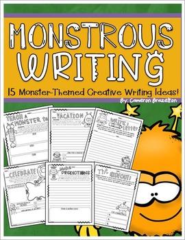 Halloween Creative Writing Ideas (Monster-Themed)