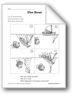 Creative Writing Ideas-Sequence and Write: The Boat