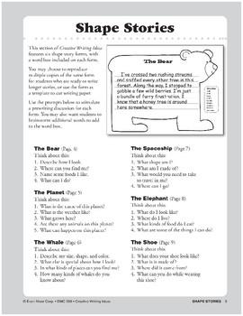 Creative Writing Ideas-Shape Stories