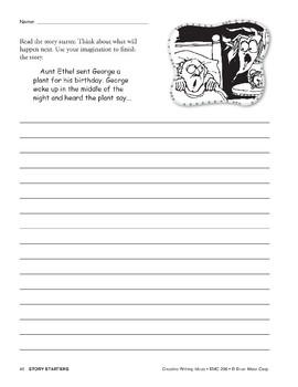 Creative Writing Ideas-Story Starters
