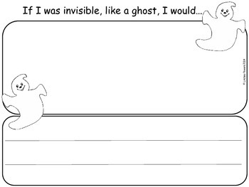 "Creative Writing ""If I was a ghost"""