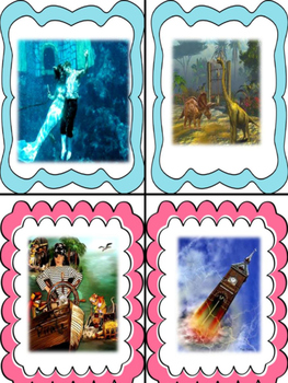 Creative Writing Imagination Inspiration Task Cards and Activities