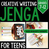 Creative Writing Jenga: Grades 6-12