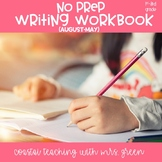 No Prep Complete 2nd Grade Writing Workbook