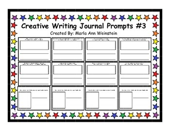 Creative Writing Journal Prompts #3