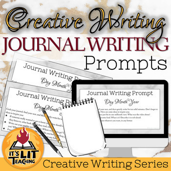 creative journal writing prompts high school
