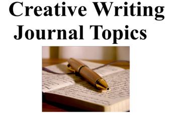 creative writing journal topics