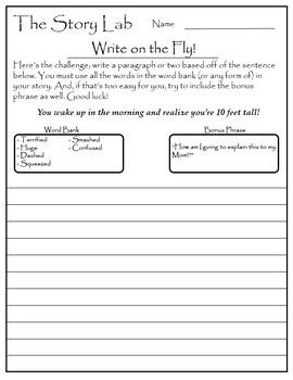 Creative Writing Kickstart