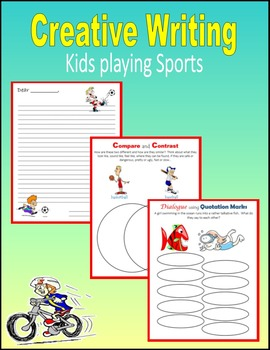Creative Writing (Kids Playing Sports)