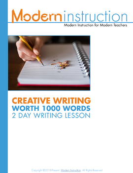 Creative Writing Lesson 1: An Image is Worth a Thousand Words (or 250)