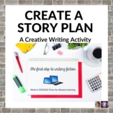 Create a Story Plan Creative Writing Lesson for Distance Learning