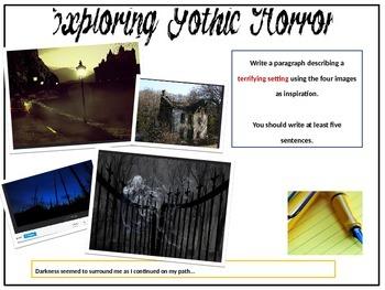 Creative Writing Lesson - Gothic Horror