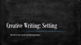 Creative Writing - Lesson Plan on Setting