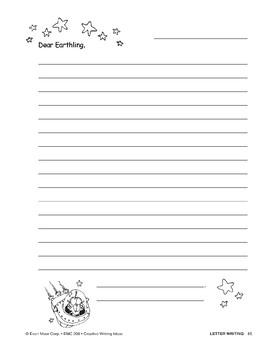 Creative Writing-Letter Writing: Alien Pen Pals