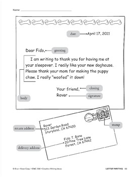 Creative Writing-Letter Writing: Alien Pen Pals