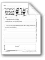 Creative Writing-Letter Writing: Fairy Tale Character