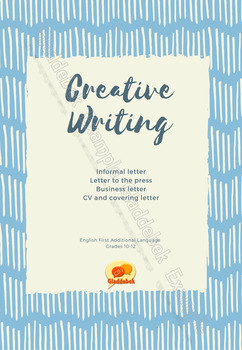Creative Writing: Letters