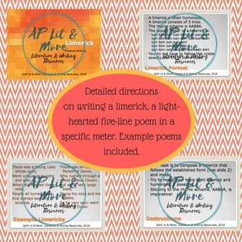 Creative Writing - Limerick, a Fixed-Form Poem