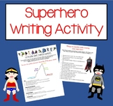 Creative Writing- Superhero Story with Pre-writing, Assign
