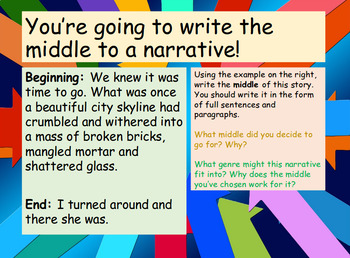 Creative Writing: Middle of Narratives