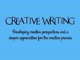 Creative Writing Mini-Course PPT
