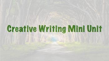 Creative Writing Mini Unit Bundle