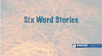 Creative Writing Mini Unit: Six Word Stories