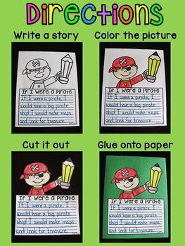 Creative Writing Activities (No Prep Crafts)
