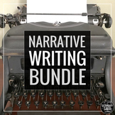 Creative Writing/ Narrative BUNDLE: Full YEAR of Prompts, Assignments, & More!