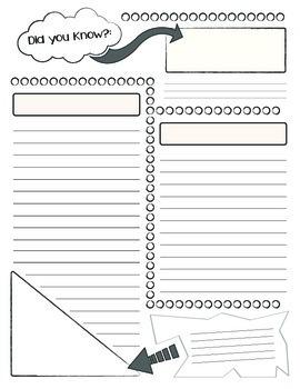 Creative Writing: Newsletter Publishing Paper
