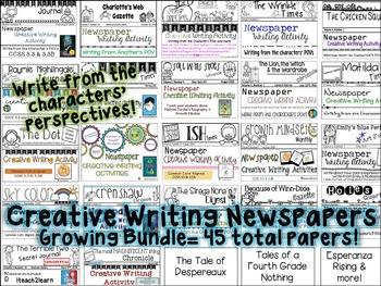 Novel Study - Writing Activities & Growth Mindset