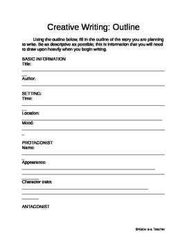 Junior research paper packet