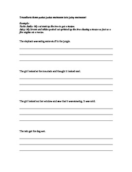 Creative Writing Packet