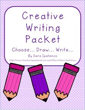 Creative Writing Packet - Choose, Draw, Write