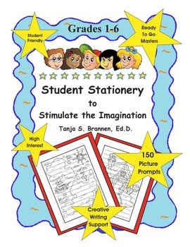 Creative Writing Paper Student Stationery to Stimulate the Imagination