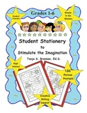 Creative Writing Paper Student Stationery to Stimulate the