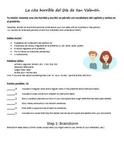 Creative Writing Mini Project: Una cita horrible (Realidades 3A, Spanish 2)