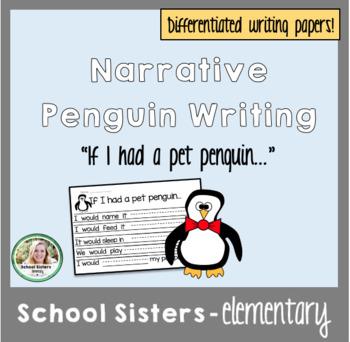 Creative Writing Penguin Themed