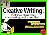 Creative Writing: Pick Two Characters, a Setting, and a Conflict
