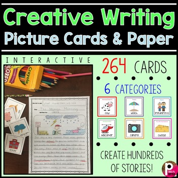 Creative Writing Picture Cards and Paper