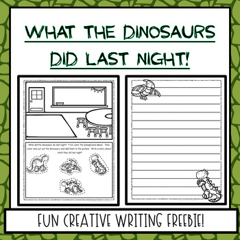 Creative Writing Picture Freebie!