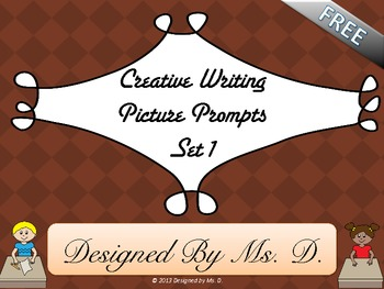 Creative Writing Picture Prompts - Set 1